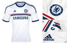 Camisa reserva Chelsea 2013-2014
