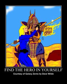 Find the hero in yourself