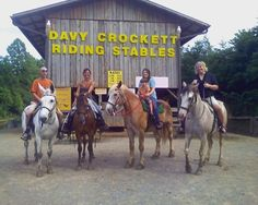 Davy Crockett Riding Stables, Townsend: See 179 reviews, articles, and 72 photos of Davy Crockett Riding Stables, ranked No.3 on TripAdvisor among 15 attractions in Townsend.