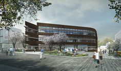 Make Architects Reveal Big Data Institute for University of Oxford