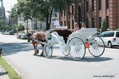 Carriage ride for Cinderella 5th Birthday
