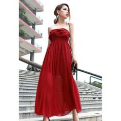 Red Maxi Dress from Everbuying   Haute Cocktail