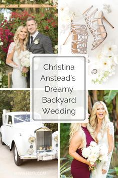 On December Christina and Ant Anstead pulled off a surprise wedding in their backyard for 70 of their closest friends and family. Diy Wedding Binder, Christina El Moussa, Surprise Wedding, Happily Ever After, Celebrity Weddings, Beautiful Day, Big Day, Dream Wedding, Closest Friends