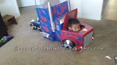 Cool Transforming Transformer Costume... Coolest Halloween Costume Contest