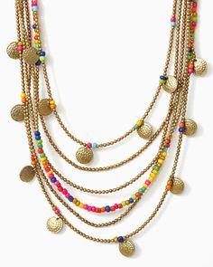 charming charlie   Bohemian Gypsy Necklace   UPC: 410006789937 #charmingcharlie