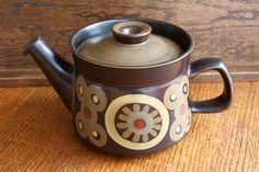 Denby Arabesque Tea Pot. £16.00, via Etsy.