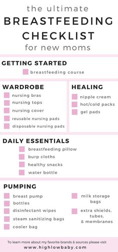 First Time Moms 68667 Ultimate Breastfeeding Checklist for new moms! A helpful resource to help you plan which breastfeeding supplies you'll need to meet your breastfeeding goals. Read on for my favorite brands and sources! Breastfeeding Pillow, Breastfeeding Tips, Breastfeeding Problems, Extended Breastfeeding, Milk Storage Bags, Hot Cold Packs, Nursing Pads, After Baby, Pregnant Mom