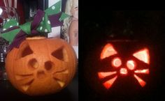 my cute cat pumpkin. <3 @Courtney Wilkerson