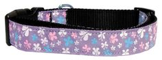 This wide size small dog collar is made of durable nylon with a high quality ribbon overlay. It is adjustable to fit a neck size from Summary : Dog Collars and Leashes/Nylon Dog Collars/Butterfly Nylon Ribbon Collar Puppy Collars, Dog Collars & Leashes, Leather Slip Ons, Real Leather, Nylons, Best Dog Training, Training Collar, Collar Designs, Collar And Leash