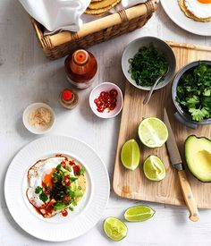 Fried egg, avocado and chilli tacos recipe | Gourmet Traveller recipe - Gourmet Traveller