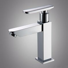 2014 Special Offer Time-limited No <2kg Free Shipping Water Tap Single Cold Basin Faucet Wash Square Bathroom Faucets Torneira