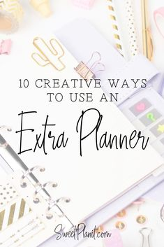 Don't throw away your extra planners! 10 Creative Ways to Use an Extra Planner Start Planner, Weekly Meal Planner, Planner Tips, Planner Layout, Happy Planner, Passion Planner, Making A Bullet Journal, Bullet Journal Hacks, Bullet Journal How To Start A