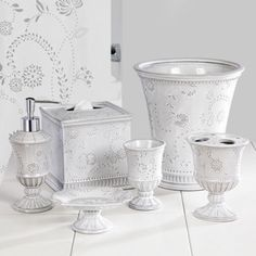 Creative Bath™ Eyelet Bath Collection  found at @JCPenney