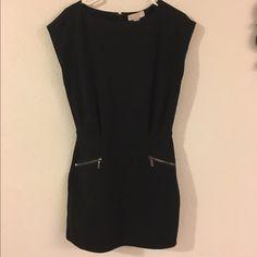 Michael Kors, cap sleeve black dress Priced reduced ‼️Michael Kors, cap sleeve black dress!! Price firm, no trade  Michael Kors Dresses Mini