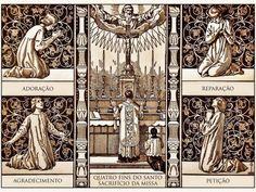 Los 4 objetivos de la misa