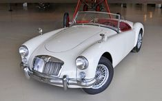 Museum Raffle: Win This 1960 MGA! - http://barnfinds.com/museum-raffle-win-this-1960-mga/