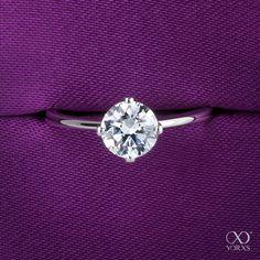 A flawless diamond ring for a dreamlike proposal #yorxs #verlobungsring #diamantring