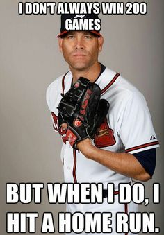 ...as well as double and score another run just to keep it interesting.... Tim Hudson / Atlanta Braves / April 29, 2013