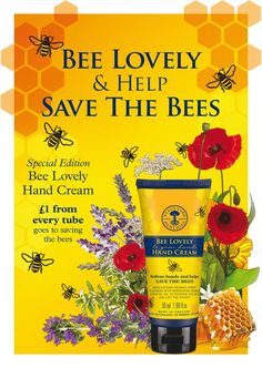 Neal's Yard Remedies - Bee Lovely Hand Cream. Best hand cream I've ever had, so rich and lasts forever. https://uk.nyrorganic.com/shop/elizabethmckean