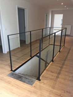 Inventive Staircase Design Tips for the Home – Voyage Afield Metal Stairs, Metal Railings, Modern Stairs, House Deck, House Stairs, Railing Design, Staircase Design, 4 Bedroom House Designs, Staircase Handrail