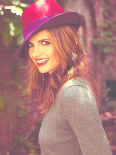 Stana Katic-Beckett from Castle