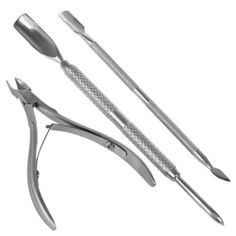 มาใหม่ อัพเดตราคาล่าสุด Gracefulvara 3 Pcs Nail Cuticle Pusher   Nipper Remover Clipper Set ซื้อออนไลน์ ชำระเงินได้หลากหลายช่องทาง