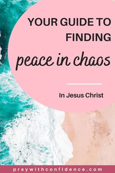 How to find peace in Jesus while life in chaotic. Finding peace in the chaos of life. Christian Post, Christian Women, Christian Living, Christian College, Peace Of God, Word Of God, Jesus Peace, Inner Peace