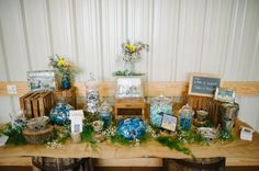 Country Wedding Decortions
