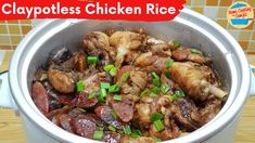 Claypot Chicken Rice, Rice Noodles, Clay Pots, Rice Cooker, Tasty Dishes, Family Meals, The Creator, Beef, Asian