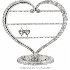 Big Heart Earring Stand  available at #Brighton  #WinOurHearts