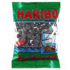 -in USA- HARIBO Salt bomber - Licorice gummies -325g