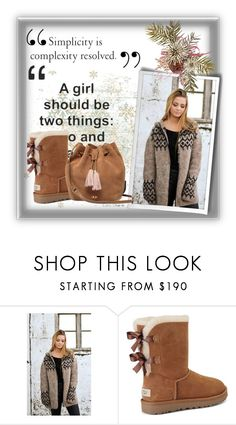 """""""Lopia 9/ 10"""" by emina-095 ❤ liked on Polyvore featuring UGG"""