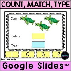 Counting Activities, Math Games, Fun Games, Number Recognition, Hands On Learning, Cvc Words, Kindergarten Teachers, Google Classroom, Math Centers