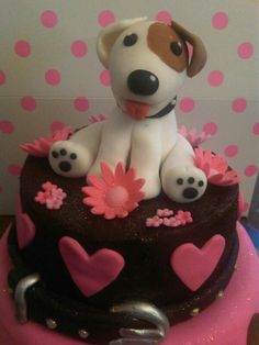 Having a Jack Russel, and being a cake decorator, I have to try this.