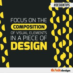 Focus On The Composition Of Visual Elements In Design Graphic Design Tips, Web Design, Logo Design, Make A Color Palette, Create Your Own Background, Friends Font, Visual Hierarchy, Online Logo, Brand Management