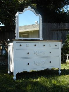 The girls new dressers