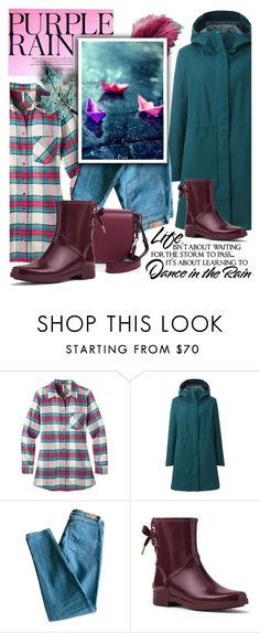 """On a rainy day!"" by samketina ❤ liked on Polyvore featuring WALL, Mountain Khakis, Uniqlo, Sandro, MICHAEL Michael Kors and Mackage"
