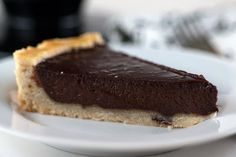 Chocolate Tart with Shortbread Crust
