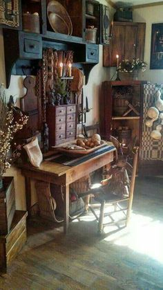 Primitives and Fall A Match Made In Heaven Decorating with