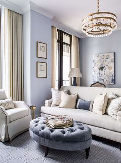 Would You Live in This Hotel Condo? Interior Design by Jessica Bradley. Photography by Jeff Herr. Interior Design Living Room, Living Room Designs, Living Room Decor, Living Spaces, Luxury Furniture, Furniture Decor, Cream Living Rooms, Vintage Home Decor, Decoration