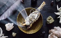 Sage is is a powerful ritual The ritual of sage burning has its roots in Native American tradition. Today, people burn sage and other holy herbs to cleanse a space or environment of negative energy, to generate wisdom and clarity, and to promote healing.