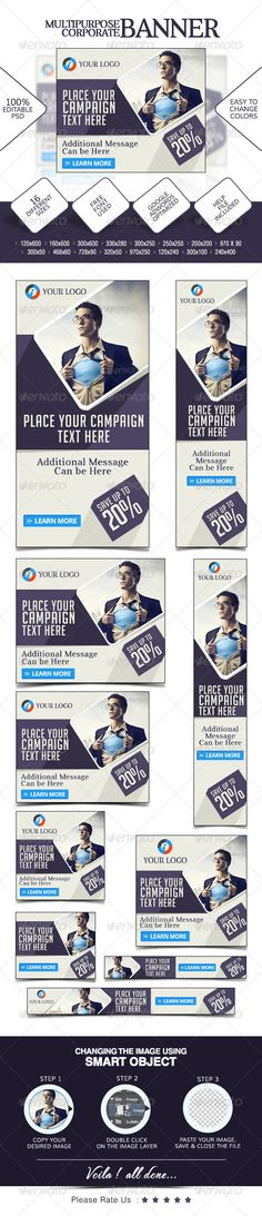 Multi Purpose Web Banners Template PSD | Buy and Download: http://graphicriver.net/item/multi-purpose-banners/7678852?WT.ac=category_thumb&WT.z_author=doto&ref=ksioks