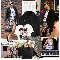 """Fashion Week Street Style/The Blonde Salad"" by anitalolonga on Polyvore"