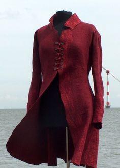 Felt Jacket by Dutch feltmaker Anneke Copier