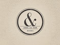 Ampersand stamp logo #graphic #design