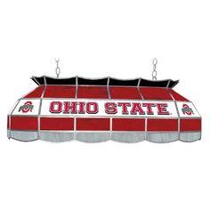 "Amazon.com : NCAA Ohio State University Tiffany Gameroom Lamp, 40"" : Sports Fan Billiard Lighting : Sports & Outdoors"