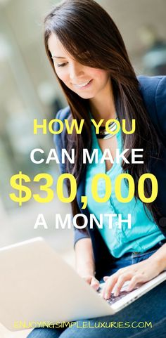 Are you tired of the normal 9-5 job? Here's How You Can Make $30,000 A Month working from home.