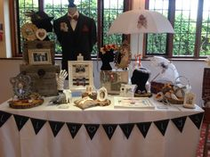 Lilly Dilly's stand at Hogarths Stone Manor, Kidderminster Oct 2015 #lillydillys #weddingfayre #vintage #bespoke #couture #stone manor