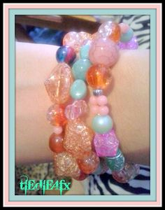 Glam Fashion Turquoise Birthstone Bracelets Jewelry Holiday Gifts 3pcs  #TieDie4FX #Beaded