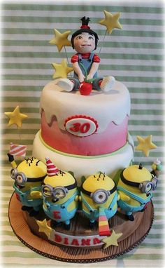 Party's Minion  - Cake by Sabrina Di Clemente